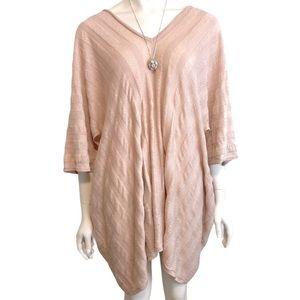 PROENZA SCHOULER Dusty Pink Linen Cotton Dress L